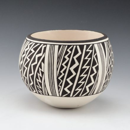 Lewis, Carmel  – Bowl with Lightning Design