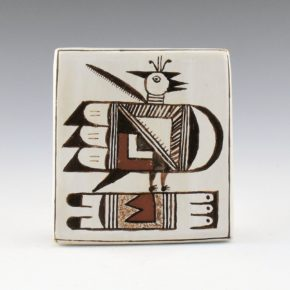 Tewawina, Dana – Tile with Hopi Eagle (21 years old)