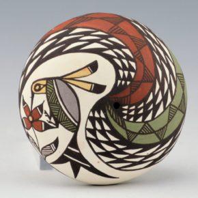 Lewis-Garcia, Diane – Seedpot with Hummingbird
