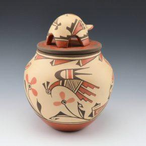 Medina, Elizabeth & Marcellus – Jar with Butterflies, Bird &  Turtle Lid