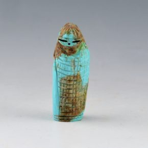 Quandelacy, Faye – Turquoise Corn Maiden