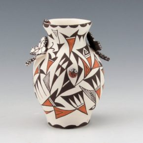 Lewis, Judy – Jar with Butterflies and Lady Bugs