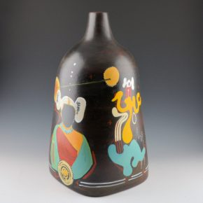 "Folwell, Susan & Les Namingha – ""Corn Maiden: Earth Mother"" Jar"