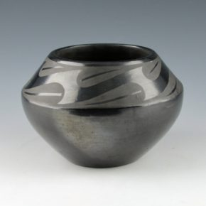 Roybal, Tonita – Bowl with Cloud and Water Designs (1930's)