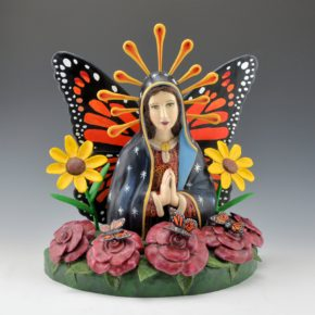 "Arthur Lopez – ""Maria-Posa"" Wood Carving"