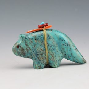 Quam, Daphne – Turquoise Fox with Arrowhead Bundle