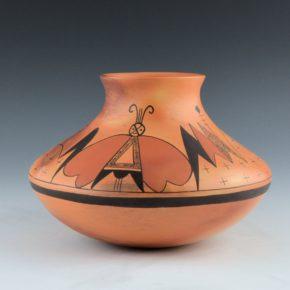 Clashin, Debbie – Jar with Moth Design
