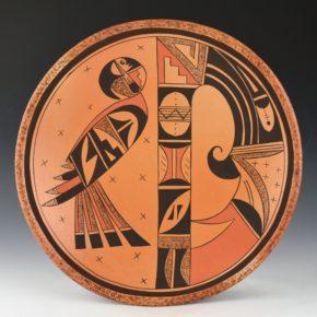 Clashin, Debbie – Plate with Awatovi & Sikyatki Birds