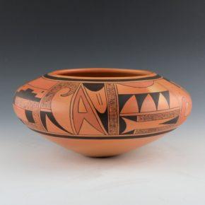 Clashin, Debbie – Wide Bowl with Mesa & Sun Designs