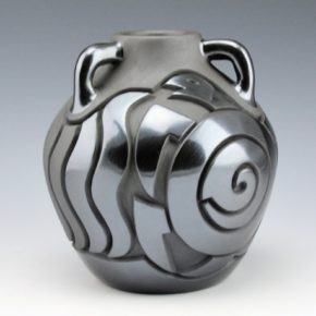 Begay, Jr., Harrison – Three Handle Jar with Turtle & Dragonfly
