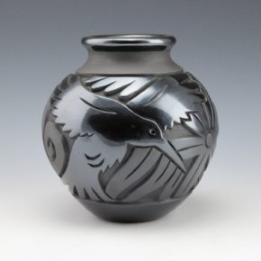 Begay, Jr., Harrison – Jar with Hummingbirds and Flowers