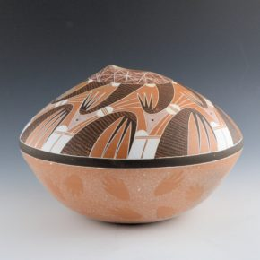 Koopee, Jacob – Bowl with Migration Pattern (2004)