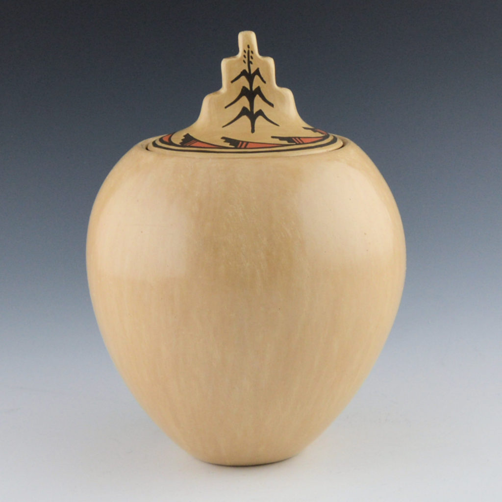 Juanita Fragua, Lidded Jar