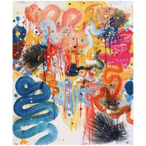 "Vigil, Phillip – ""Blue River"" Original Acrylic on Canvas"