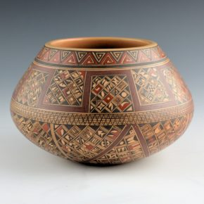 Huma, Rondina – Wide Bowl with Pottery Shard Designs (2000)