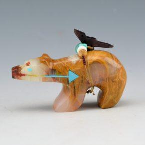 Laiwakete, Fernando –  Heartline Bear with Bird