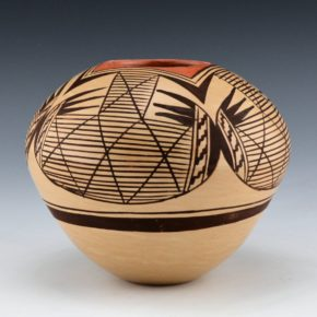 Nampeyo, Janell – Bowl with Bat Wing Design