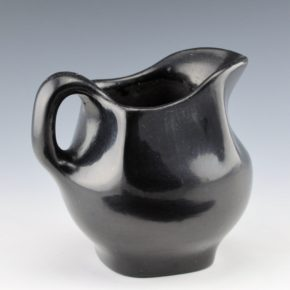 "Martinez, Maria – Plainware Pitcher ""Marie + Julian"" (1920's)"