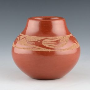 Da, Tony – Red Jar with Avanyu (1972-3)