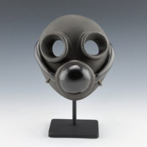 Moquino, Ty – Mask With Carved & Polished Air Filter (Age 15)