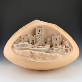 Qoyawayma, Al – Large Full Arch Mesa Verde Jar