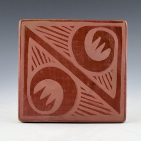 Blue Corn – Tile with Rain and Cloud Designs (1960's) (15)