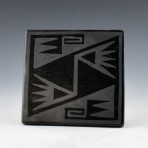 Blue Corn – Tile with Bird Wing Design (1960's) (6)