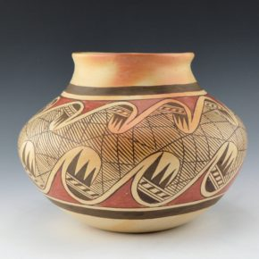Nampeyo, Fannie – Large Migration Pattern Jar (1960's)