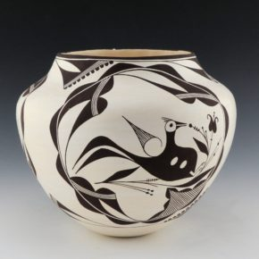 Peters, Franklin – Jar with Acoma Birds