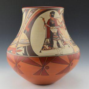 "de la Cruz, Juan and Lois Gutierrez  – ""Dragonfly"" Water Jar"