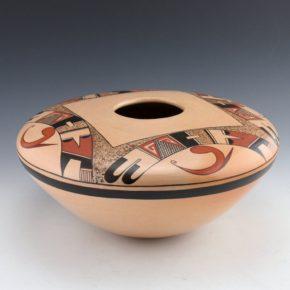 Tahbo, Mark  – Large Jar with Sikyatki Birds (1990's)