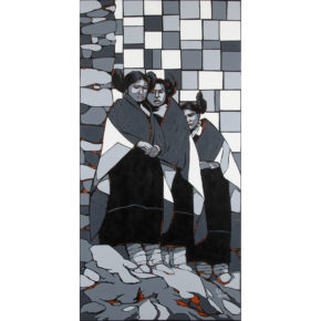 "Allison, Marla – ""Hopi Girls"" Original Acrylic"
