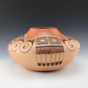 Nampeyo, James Garcia – Large Jar with Eagle Tail Design