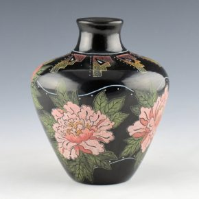 Moquino, Jennifer Tafoya – Jar with Peony Flowers