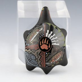 Moquino, Jennifer – Turtle with Trout Design