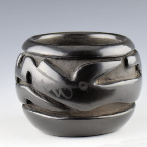 Tafoya, Margaret – Bowl with Carved Avanyu (1960's)