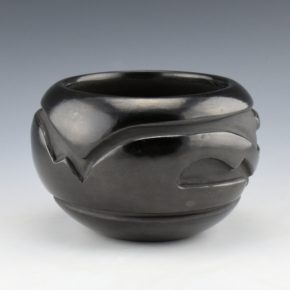 Cain, Mary – Bowl with Cloud and Wind Designs