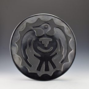 Gonzales, Rose – Carved Plate with Bird Design