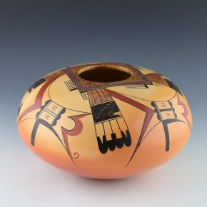 "Koopee, Jacob – ""Hopi Sikyatki"" Bowl"