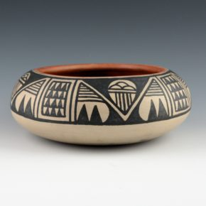 Aguilar, Joe – Bowl with Rain Cloud Designs (1950's)