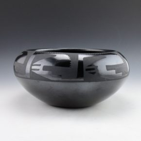 Pena, Juanita – Large Bowl with Rain Designs (1920's)