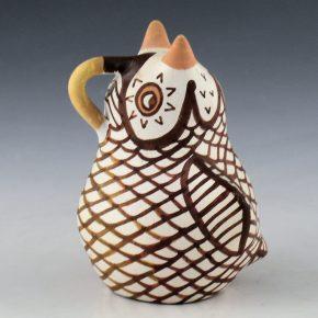 Lailo, Lydia Vicenti – Clay Owl Figure