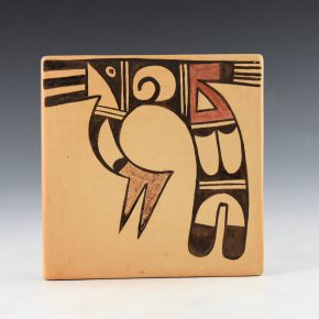 Adams, Sadie – Tile with Hopi Bird