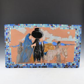 "Folwell, Susan – ""Going East"" Large Tile"