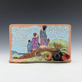 "Folwell, Susan – ""Water Carriers"" Tile"