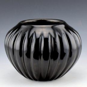 Baca, Angela – Melon Jar with 24 Ribs