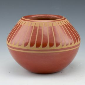 Blue Corn –  Bowl with Feather Design (1970's)