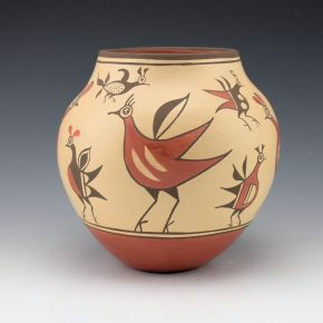 Medina, Elizabeth & Marcellus – Jar with 12 Birds