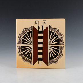 Maho, Garrett –  Butterfly Tile