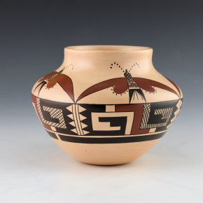 Maho, Garrett –  Jar with Moth Design